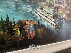 Disney Custom Framed Pin Set Song Of The South Splash Mountain One Of A Kind