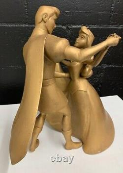 Disney Phillip and Aurora Dancing statue-One of a kind prop from convention