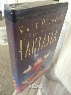 Disney's Fantasia VHS, with GOLD LEAF MISPRINT! One of a kind, FACTORY sealed
