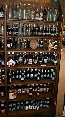 Estate Sale Massive Dr Pepper Bottle Collection One Of A Kind 50 Years