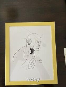 Ethan Van Sciver Original Sketch-The Flash! One-of-a-kind Item