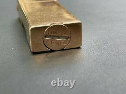 Extremely Rare One Of A Kind 14K Gold Watch Lighter