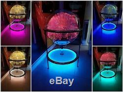 FANTASIA COSMOS 2 Fiber Optic Floor Lamp, BEAUTIFUL! One Of A Kind! Extra Spray