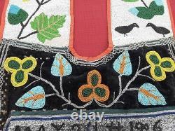 Fantastic one of a kind Plains Ojibwe Bandolier Bag 1906