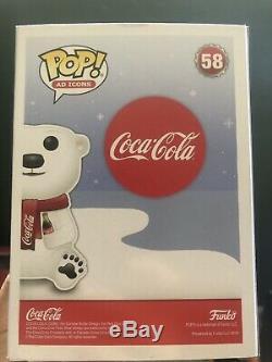 Funko Pop! Coca Cola Bear (Rare Error, One Of A Kind)