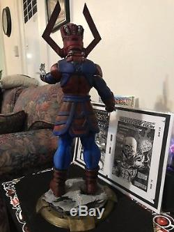 GALACTUS STATUE CUSTOM MADE! 24 Inches Tall! One Of A Kind