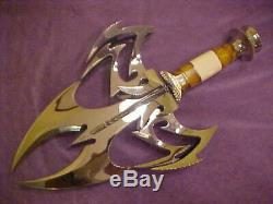 Gil Hibben Handmade Golden Widow Fantasy Knife One Of A Kind