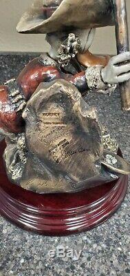 Giuseppe Armani Disney Eureka Bronze 0590m Artist Proof -very Rare One Of A Kind