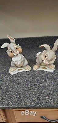 Giuseppe Armani Disney Thumper 2127c & 2128c Artist Proof Rare One Of A Kind