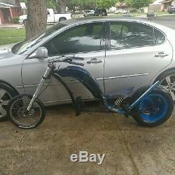 Godspeed INC. Schwinn Stingray Harley chopper bicycle one of a kind