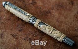 Grayson Tighe Nefertiti Unique Fountain Pen One of a Kind