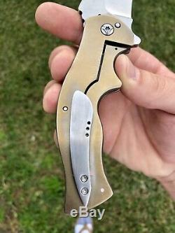 Greg Lightfoot Custom Knife Middle Weight Rematch One Of A Kind Safe Queen