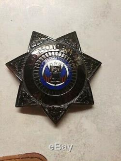 HARLEY-DAVIDSON Motor Officer Badge USA Made by S&Wone of a kind