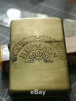 H. UPMANN CIGARS DE CUBA Zippo LIGHTER ONE OF A KIND GOLD TONE POLISHED