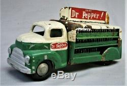 Hand Made Dr. Pepper Bottle Delivery Truck One of a Kind