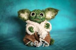 Handcrafted Baby Yoda Star Wars Collectable Rare One If A Kind