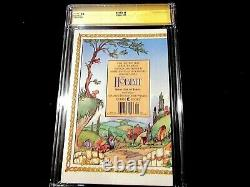 Hobbit #1 SS CGC 9.6 Signed by Wood, Astin & Boyd! One of a kind
