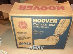 Hoover Decade 80 NEW! NIB! NEVER USED! FACTORY ERROR! ONE OF A KIND! Convertible