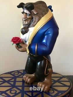 Huge Disney Beast on Base Statue. One of a kind resin 23
