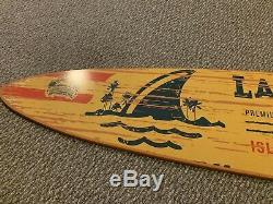 Jimmy Buffett Signed Landshark Lager 6 Ft Surfboard-Truly One Of A Kind