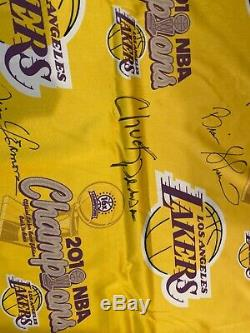 KOBE BRYANT Lakers 2010 Championship Banner In The Locker Room ONE OF A KIND