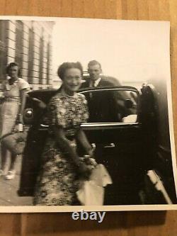 King Edward VIII & Wallis Simpson One of a Kind Candid Photo 30s Abdication