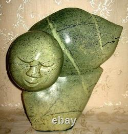 LARGE Beautiful One of a Kind Shona Sculpture Art Carving Spirit of Truth