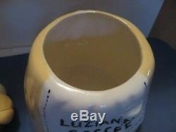 LUZIANNE COFFEE Mammy Cookie Jar Hand Crafted made in USA ONE OF A KIND