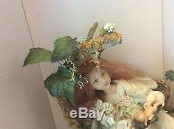 Linda Kirtzman mother and child doll 1993 Disney convention one of a kind