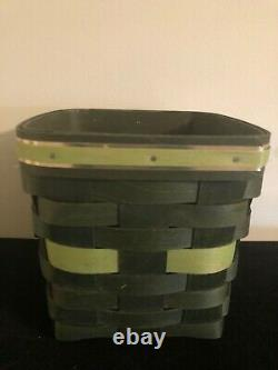 Longaberger St. Patrick's Tissue Basket Rare One of a KInd Prototype