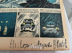 MAD Magazine Issue #1 1952. VG- (3.5). One of a Kind. Signed by Harvey Kurtzman