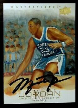 MICHAEL JORDAN-2011/12 UD Maser Collection (#/30) AUTO/AUTOGRAPH ONE-OF-A-KIND