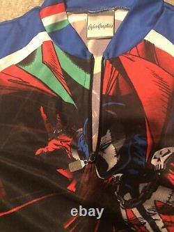 McFarlane Toys SPAWN Bicycle Cycling Shirt. RARE Prototype Sample. One of a Kind