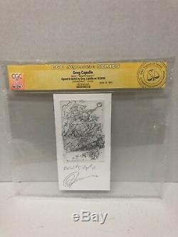 Metals 5 Page 11 CGC Signature Series Greg Capullo Minisketch one of a kind art