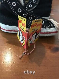 Mighty Mouse Tennis Shoes MINT In BOX CBS RARE One of a Kind