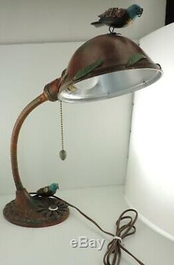 Mullanium ONE-OF-A-KIND Desk Lamp mid-2000's Jim & Tori Mullan 17 Steampunk