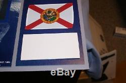NASA Space Shuttle Discovery Pair of Space Flown Flags One of a Kind Piece