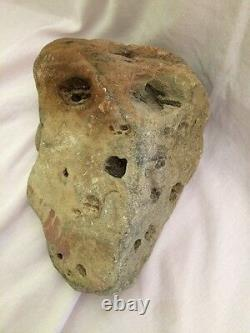 Natural Gods One-Of-A-Kind skull rock head alien Edvard Munch scream