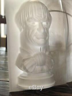 New Rare Disney Haunted Mansion Bust Set Handmade One Of A Kind Mold Set Of 2