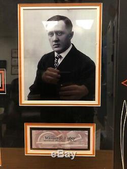 ONE OF A KIND Certified William S Harley & Arthur Davidson Signed Artwork