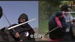 ONE OF A KIND. Hand Forged, Folded, Polished & Sharpened NINJA Sword