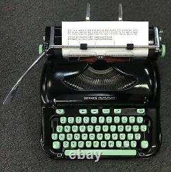 ONE-OF-A-KIND! Hermes 3000 REFURBISHED professionally repainted black Mint