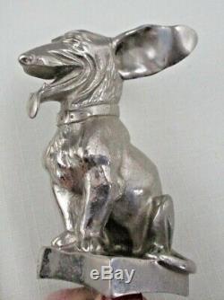 ONE OF A KIND Hood ORNAMENT MASCOT Dog CARDEILHAC PARIS Corgi Dachshund Terrier