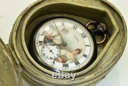 ONE OF A KIND Imperial Russian award Moser watch&silvered/Malachite Mandolin box