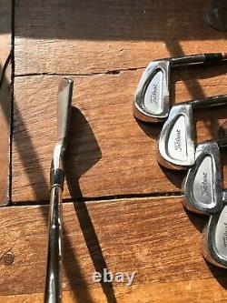 ONE-OF-A-KIND Prototype TITLEIST Individually Machined COLLECTIBLE IRONS 1,3-PW