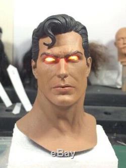 ONE OF A KIND! Superman Sideshow Premium Format Figure 1/4 Statue Original DC
