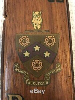 ONE OF A KIND! Vintage Phi Gamma Delta Fraternity Paddle. Dont Miss Out