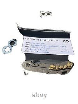 Olamic wayfarer 247H Harpoon Blade Stonewashed One Of A Kind Skulls Flipper