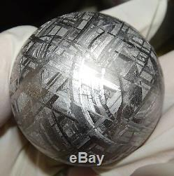 One Of A Kind Huge 46mm, 410 Gm Muonionalusta Etched Sphere
