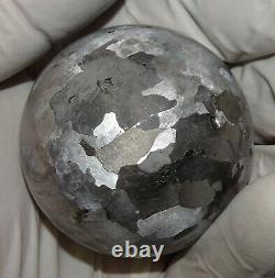 One Of A Kind Huge 51 MM Campo Del Cielo Etched Meteorite Sphere